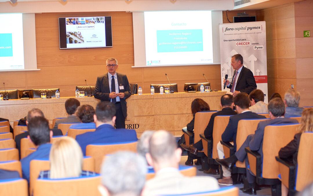 Forchronic asiste al Foro Capital Pymes celebrado en Madrid el pasado 11 de junio